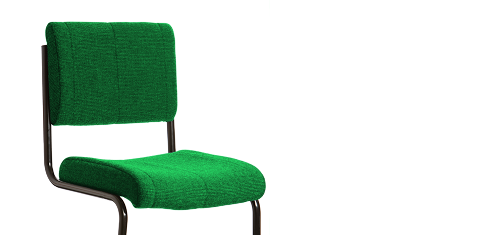 The Indestructible Student Chair - green colour